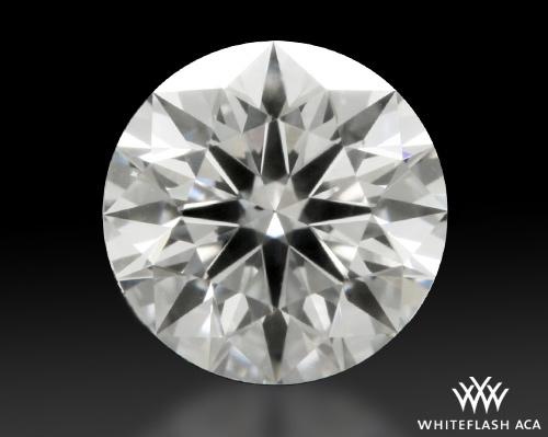 0.318 ct E SI1 A CUT ABOVE® Hearts and Arrows Super Ideal Round Cut Loose Diamond