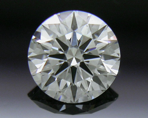 0.334 ct F SI1 A CUT ABOVE® Hearts and Arrows Super Ideal Round Cut Loose Diamond