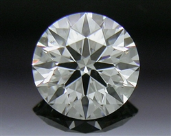 0.332 ct F SI1 A CUT ABOVE® Hearts and Arrows Super Ideal Round Cut Loose Diamond