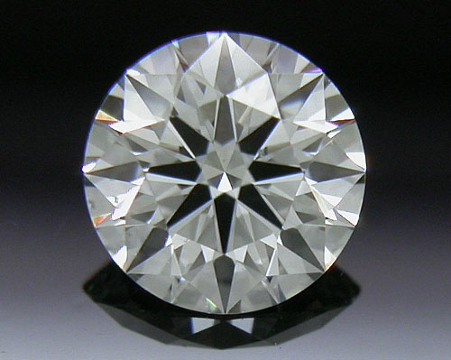 0.336 ct G SI1 A CUT ABOVE® Hearts and Arrows Super Ideal Round Cut Loose Diamond