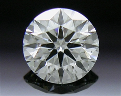 0.344 ct G SI1 A CUT ABOVE® Hearts and Arrows Super Ideal Round Cut Loose Diamond