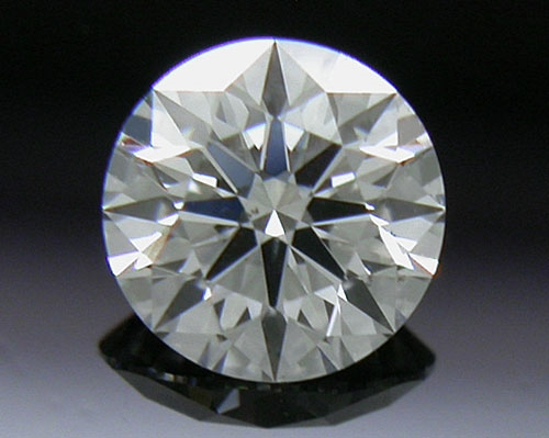 0.337 ct G SI1 A CUT ABOVE® Hearts and Arrows Super Ideal Round Cut Loose Diamond