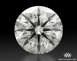 0.324 ct I VS2 A CUT ABOVE® Hearts and Arrows Super Ideal Round Cut Loose Diamond