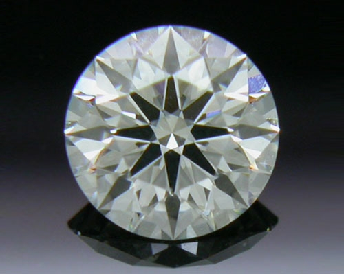 0.328 ct J VS2 A CUT ABOVE® Hearts and Arrows Super Ideal Round Cut Loose Diamond