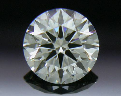 0.342 ct J VS2 A CUT ABOVE® Hearts and Arrows Super Ideal Round Cut Loose Diamond