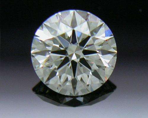 0.302 ct J VS2 A CUT ABOVE® Hearts and Arrows Super Ideal Round Cut Loose Diamond