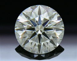 0.318 ct J VS1 A CUT ABOVE® Hearts and Arrows Super Ideal Round Cut Loose Diamond