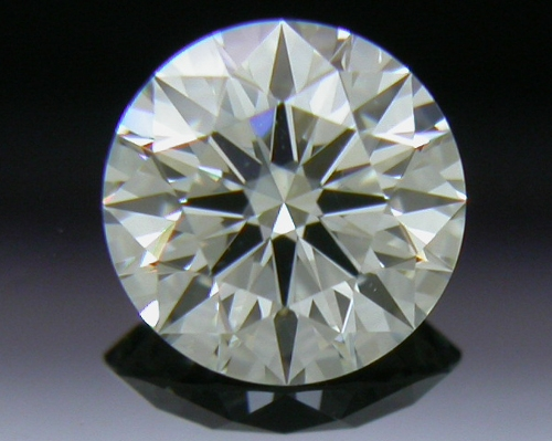 0.395 ct J SI1 A CUT ABOVE® Hearts and Arrows Super Ideal Round Cut Loose Diamond