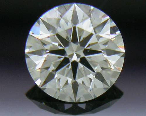 0.333 ct J SI1 A CUT ABOVE® Hearts and Arrows Super Ideal Round Cut Loose Diamond