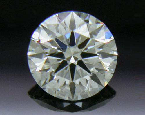 0.338 ct J VS2 A CUT ABOVE® Hearts and Arrows Super Ideal Round Cut Loose Diamond