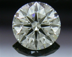 0.338 ct J SI1 A CUT ABOVE® Hearts and Arrows Super Ideal Round Cut Loose Diamond