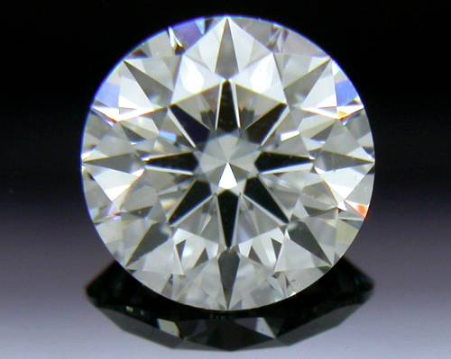 0.452 ct F VS2 A CUT ABOVE® Hearts and Arrows Super Ideal Round Cut Loose Diamond