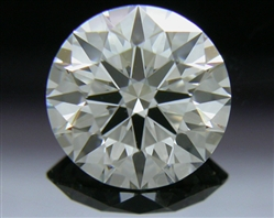 0.907 ct H VS2 A CUT ABOVE® Hearts and Arrows Super Ideal Round Cut Loose Diamond