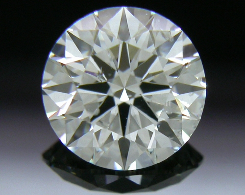 0.792 ct F SI2 A CUT ABOVE® Hearts and Arrows Super Ideal Round Cut Loose Diamond