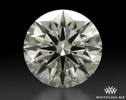 0.792 ct I VVS2 A CUT ABOVE® Hearts and Arrows Super Ideal Round Cut Loose Diamond