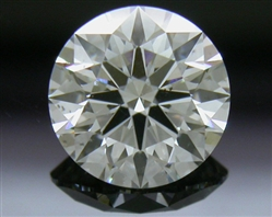 0.765 ct F VS2 A CUT ABOVE® Hearts and Arrows Super Ideal Round Cut Loose Diamond
