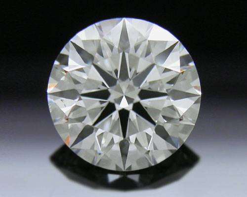 0.751 ct H SI1 A CUT ABOVE® Hearts and Arrows Super Ideal Round Cut Loose Diamond