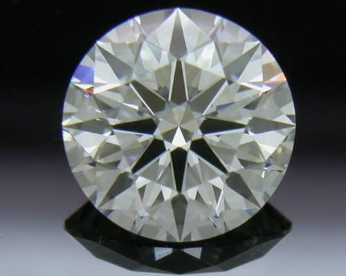 0.741 ct H VS1 A CUT ABOVE® Hearts and Arrows Super Ideal Round Cut Loose Diamond