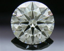 0.726 ct I SI1 A CUT ABOVE® Hearts and Arrows Super Ideal Round Cut Loose Diamond