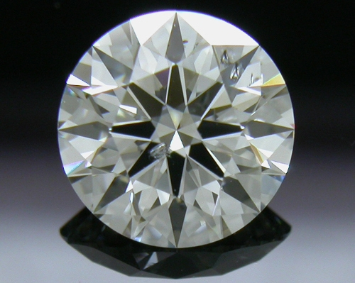 0.773 ct G SI2 A CUT ABOVE® Hearts and Arrows Super Ideal Round Cut Loose Diamond