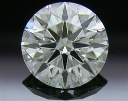 0.782 ct F SI1 A CUT ABOVE® Hearts and Arrows Super Ideal Round Cut Loose Diamond