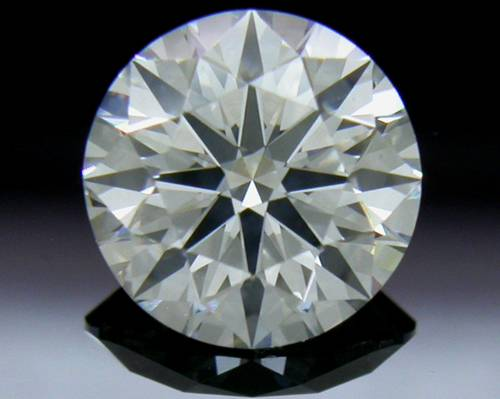 0.798 ct F SI1 A CUT ABOVE® Hearts and Arrows Super Ideal Round Cut Loose Diamond
