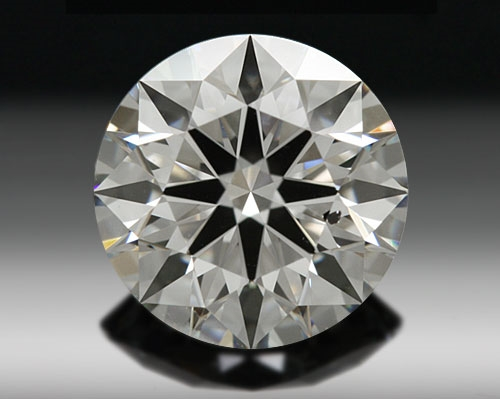 0.79 ct F SI1 A CUT ABOVE® Hearts and Arrows Super Ideal Round Cut Loose Diamond