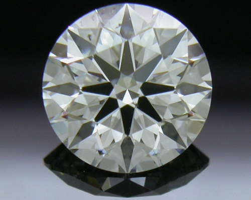 0.745 ct F SI1 A CUT ABOVE® Hearts and Arrows Super Ideal Round Cut Loose Diamond