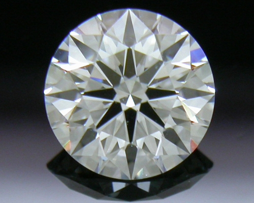 0.576 ct D VVS1 A CUT ABOVE® Hearts and Arrows Super Ideal Round Cut Loose Diamond