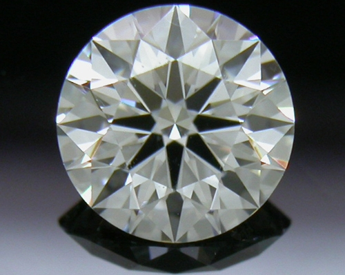 0.586 ct F VVS2 A CUT ABOVE® Hearts and Arrows Super Ideal Round Cut Loose Diamond