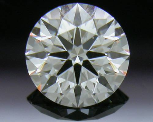 0.528 ct F VS1 A CUT ABOVE® Hearts and Arrows Super Ideal Round Cut Loose Diamond