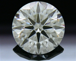 0.581 ct G VS1 A CUT ABOVE® Hearts and Arrows Super Ideal Round Cut Loose Diamond