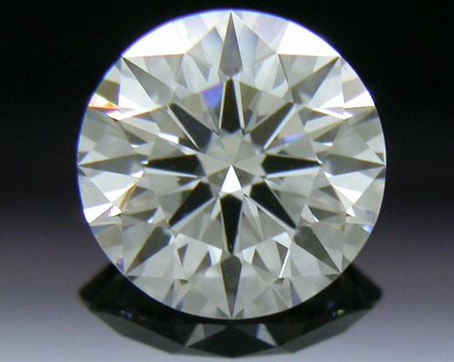 0.544 ct F VS2 A CUT ABOVE® Hearts and Arrows Super Ideal Round Cut Loose Diamond