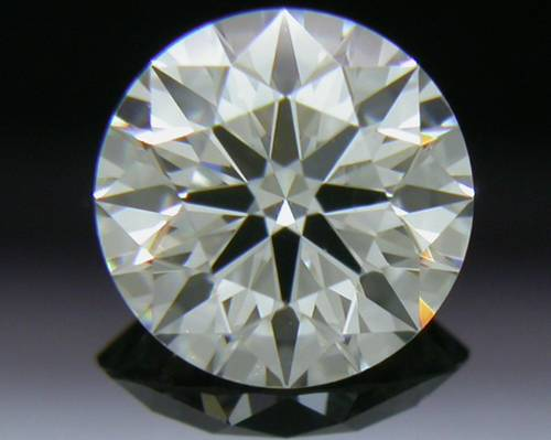 0.541 ct I VS1 A CUT ABOVE® Hearts and Arrows Super Ideal Round Cut Loose Diamond