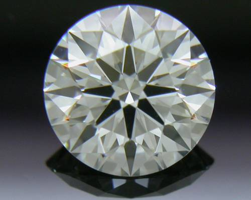 0.533 ct H VS1 A CUT ABOVE® Hearts and Arrows Super Ideal Round Cut Loose Diamond