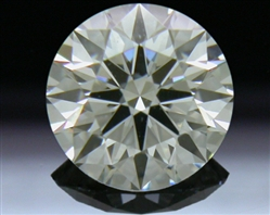 0.584 ct I VS1 A CUT ABOVE® Hearts and Arrows Super Ideal Round Cut Loose Diamond