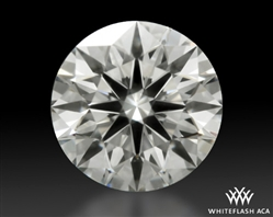 0.59 ct J VS1 A CUT ABOVE® Hearts and Arrows Super Ideal Round Cut Loose Diamond