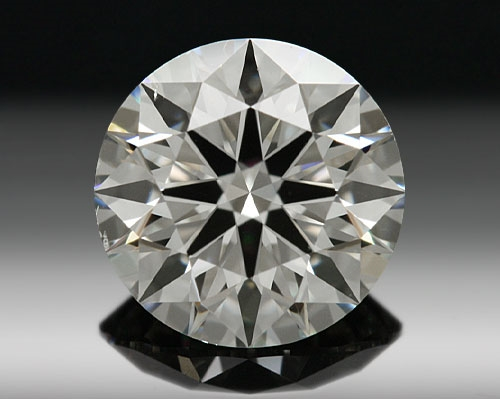 0.598 ct J SI1 A CUT ABOVE® Hearts and Arrows Super Ideal Round Cut Loose Diamond