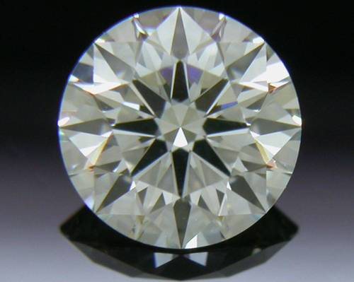 0.544 ct K VS1 A CUT ABOVE® Hearts and Arrows Super Ideal Round Cut Loose Diamond