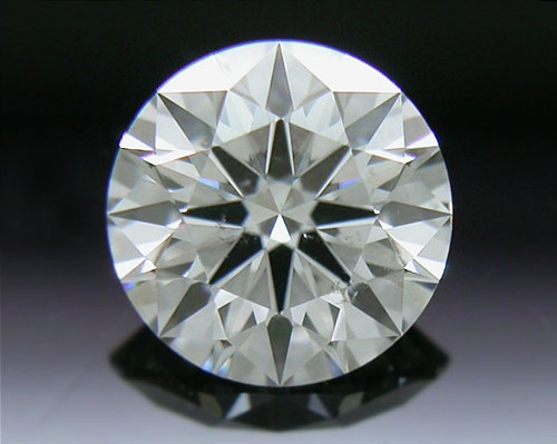 0.507 ct H SI1 A CUT ABOVE® Hearts and Arrows Super Ideal Round Cut Loose Diamond
