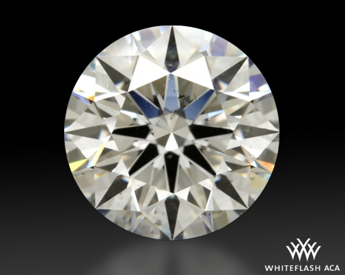 2.003 ct H SI1 A CUT ABOVE® Hearts and Arrows Super Ideal Round Cut Loose Diamond