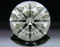 2.165 ct J VS2 A CUT ABOVE® Hearts and Arrows Super Ideal Round Cut Loose Diamond