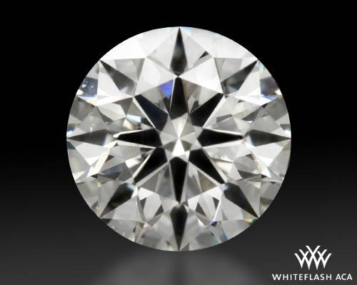 2.087 ct I VS2 A CUT ABOVE® Hearts and Arrows Super Ideal Round Cut Loose Diamond