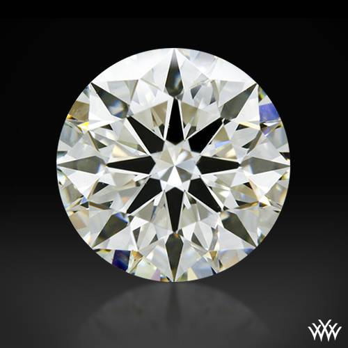 2.114 ct J SI1 A CUT ABOVE® Hearts and Arrows Super Ideal Round Cut Loose Diamond