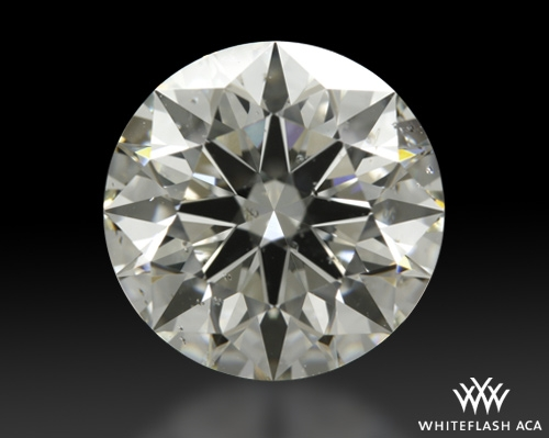 2.074 ct J SI2 A CUT ABOVE® Hearts and Arrows Super Ideal Round Cut Loose Diamond