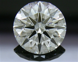 1.508 ct G SI1 A CUT ABOVE® Hearts and Arrows Super Ideal Round Cut Loose Diamond