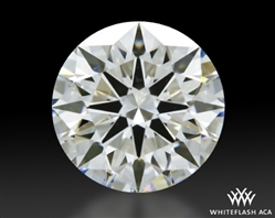1.507 ct I VS1 A CUT ABOVE® Hearts and Arrows Super Ideal Round Cut Loose Diamond