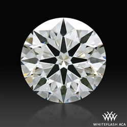 1.205 ct G VS1 A CUT ABOVE® Hearts and Arrows Super Ideal Round Cut Loose Diamond