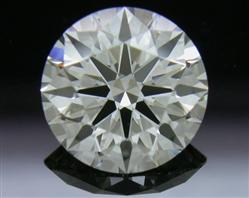 1.302 ct I VVS2 A CUT ABOVE® Hearts and Arrows Super Ideal Round Cut Loose Diamond