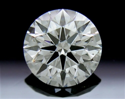 1.438 ct H SI1 A CUT ABOVE® Hearts and Arrows Super Ideal Round Cut Loose Diamond